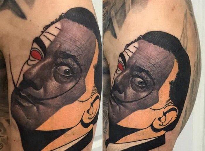 Удивительно красивые татуировки, 40 фото