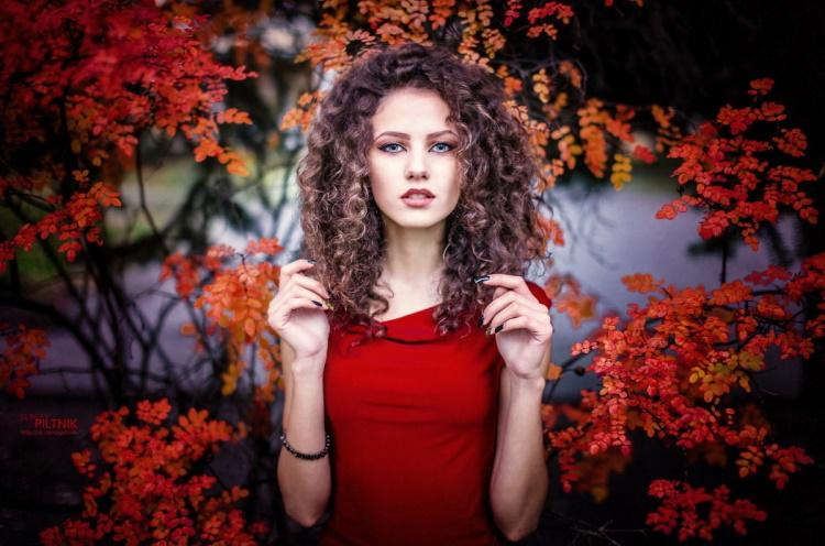 Лучшие фото девушек на осеннюю тематику