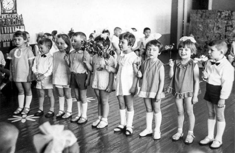 detskiy sad v SSSR
