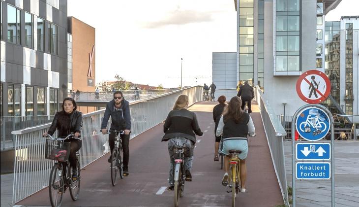 Копенгаген на велосипеде: лучшие локации для туристов