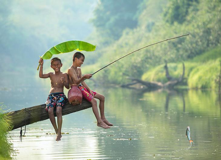 Счастливое детство: 30 завораживающих фото детей из разных уголков мира