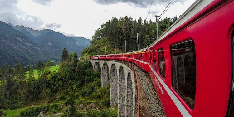 Прекрасная Швейцария, которую можно увидеть из окна поезда