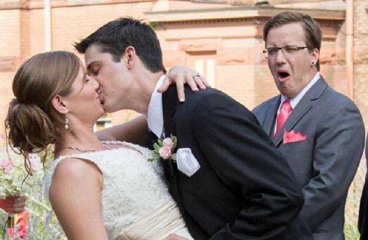 60 невероятно смешных свадебных фото