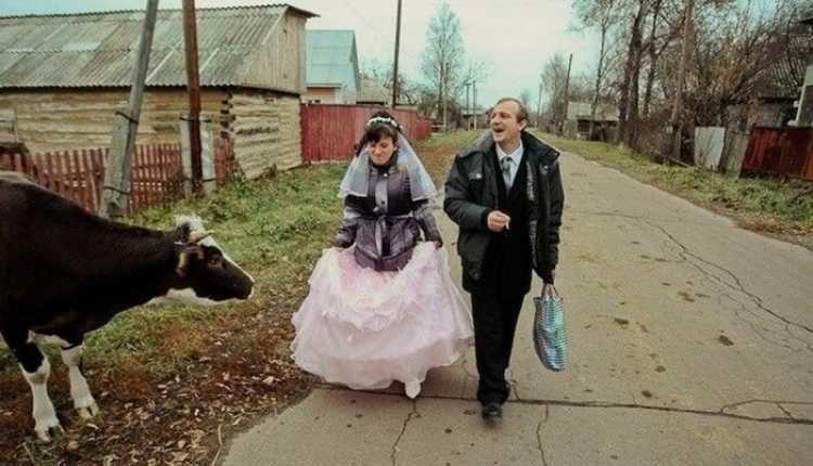 Свадьба по-русски: 70 невероятно смешных фотографий