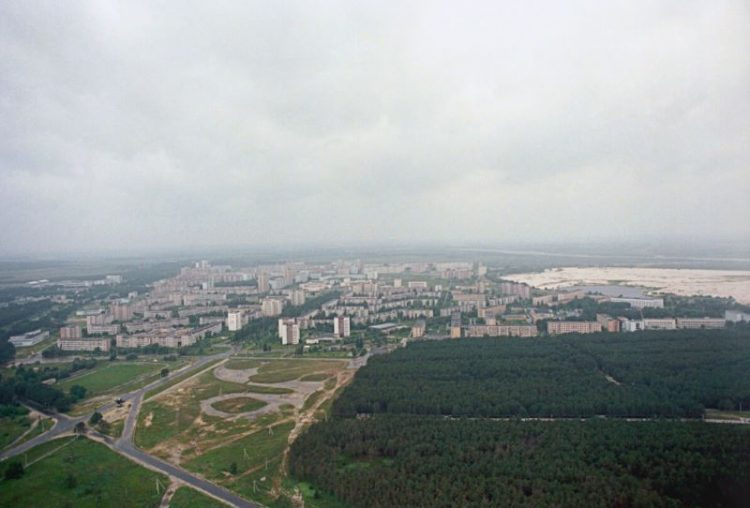 gorod Pripyat' do avarii na Chernobyl'skoy AES