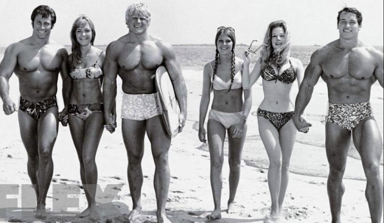 Arnold at the beach