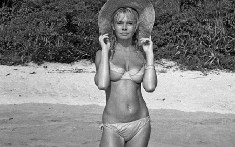 Bridgit Bordo at the beach