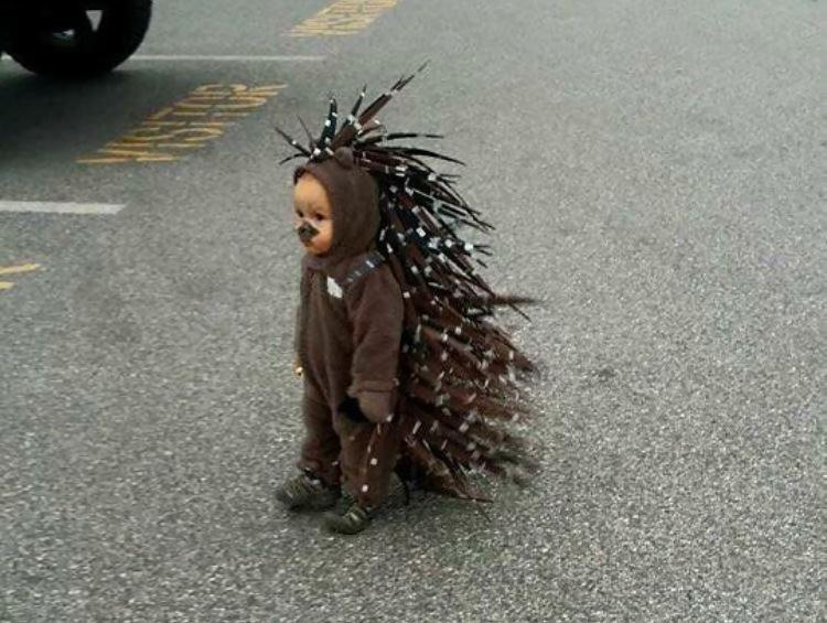 Детки-милашки в забавных костюмах: 45 позитивных фото