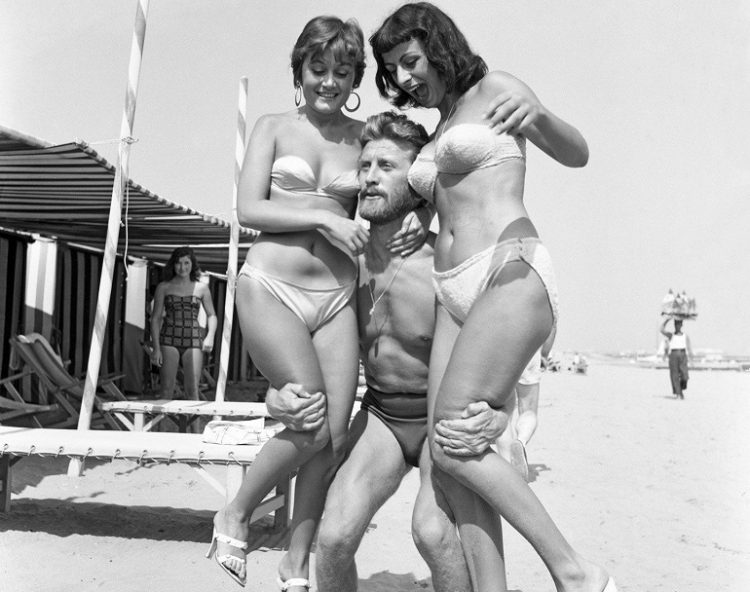 douglas on the beach