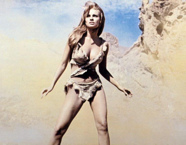 Raquel Welch on the beach
